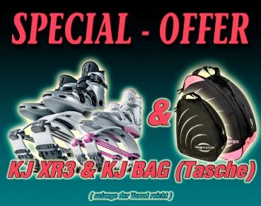 Special 1. KJ XR3 (alle Schuh-Farben) + KJ Bag (Tasche)