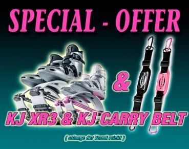 Special 2. KJ XR3 (alle Schuh-Farben wählbar) + Carry Belt