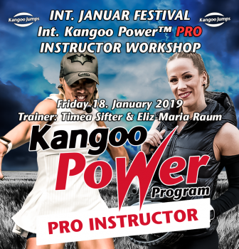KANGOO POWER PRO™ INSTRUCTOR WORKSHOP