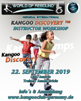 KANGOO DISCOVERY INSTRUCTOR WORKSHOP