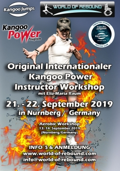 KANGOO POWER INSTRUCTOR WORKSHOP